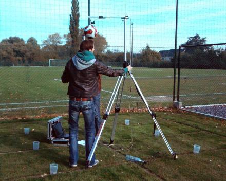 Ganda Criteria - proefvelden ETS Field Days Belgium: meting balbots.